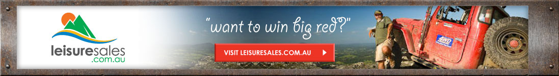 leisuresales.com.au - want to win big red?